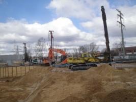 zdjęcie z budowy Dom Mehoffera