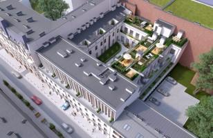 zdjęcie z przebudowy Apartamenty Wiszące Ogrody