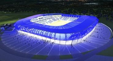 wizualizacje Nowy stadion Wisły Płock