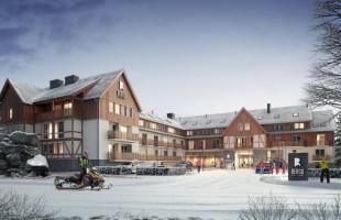 zdjęcie z budowy Hotel Mercure Bergo Szklarska Poręba