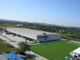 zdjęcie Centrum Logistyczne Kraków II