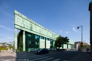 zdjęcie Biblioteka Uniwersytetu Warszawskiego BUW