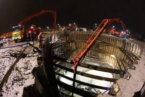 zdjęcie z budowy Basen nurkowy Deepspot