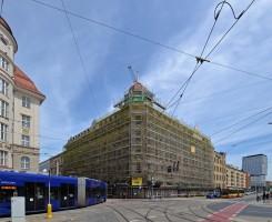 zdjęcie z przebudowy Movenpick Wrocław Grand Hotel