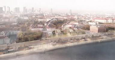 wizualizacje Budynek naukowo-dydaktyczny Uniwersytetu Warszawskiego