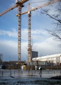zdjęcie z budowy CBD One