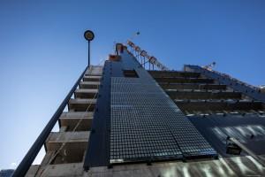 zdjęcie z budowy Spinnaker Office Tower
