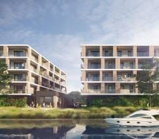 zdjęcie z budowy Victoria Apartments