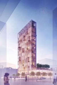 wizualizacje Warsaw Eco Tower