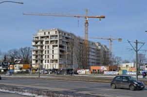 zdjęcie z budowy Soft Lofty Centrum