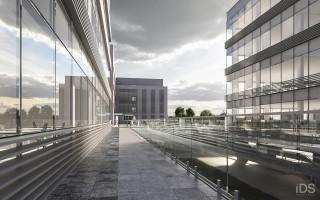 zdjęcie z budowy Szczecin Business Plaza