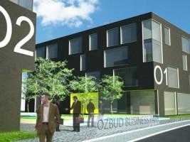 wizualizacje OZBUD Business Park