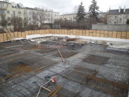 zdjęcie z budowy Nova Praga - Osiecka