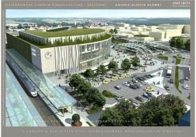 wizualizacje Nowy Dworzec Olsztyn