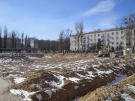zdjęcie z budowy Żeromskiego 17