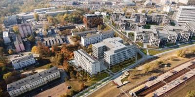 zdjęcie z budowy Kompleks hotelowo-biurowy B10