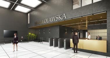 wizualizacje Biurowiec Brama Oławska