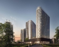 zdjęcie z budowy Global Office Park