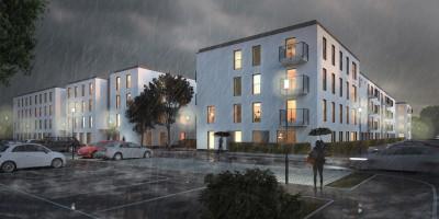 zdjęcie z budowy Mieszkanie Plus Ratuszowa