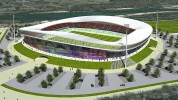 wizualizacje Stadion Ludowy