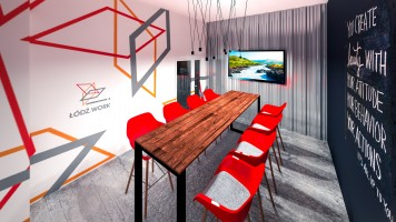 zdjęcie z przebudowy Avangarda Center