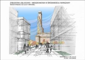 wizualizacje Torca Tower