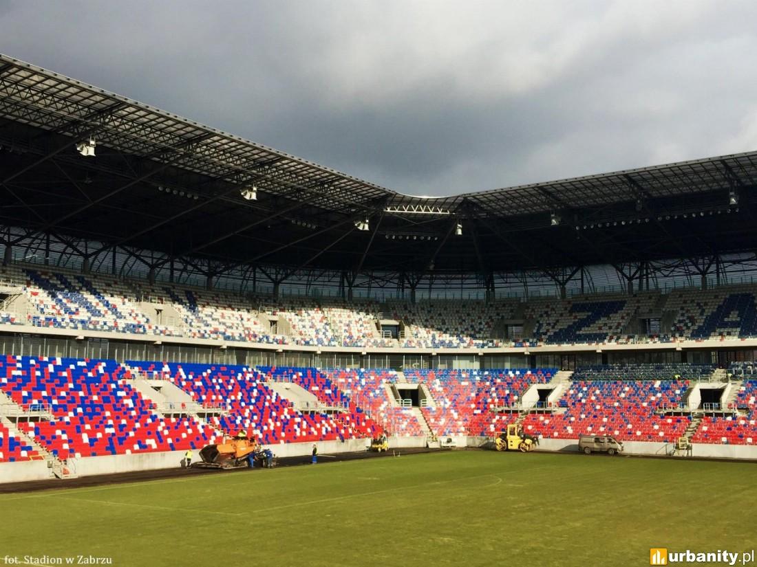 zdjęcie wykonane przez spółkę Stadion w Zabrzu