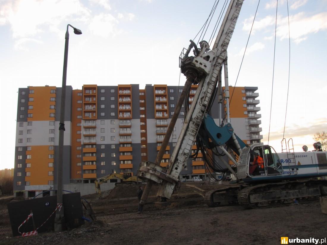 rozpoczęcie budowy II etapu