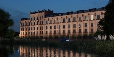 zdjęcie z przebudowy Młyn nad Cybiną