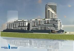 zdjęcie z budowy Capital Towers