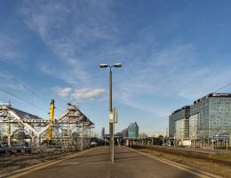 zdjęcie z przebudowy Dworzec Zachodni