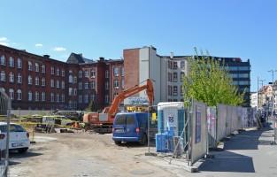 zdjęcie z budowy Biurowiec Brama Oławska