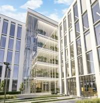 zdjęcie z budowy Centrum Administracyjne