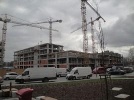 zdjęcie z budowy Murapol Atrium Służewiec