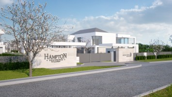 zdjęcie z budowy Hampton Residence Wilanów