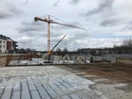 zdjęcie z budowy Osiedle Śliwowa