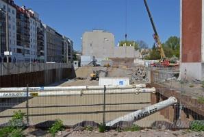 zdjęcie z budowy Vienna House Easy Wrocław