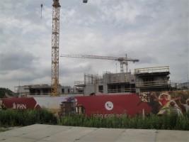 zdjęcie z budowy Osiedle Młoda Białołęka