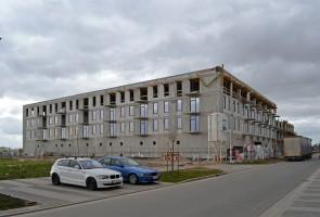 zdjęcie z budowy TBS Nowe Żerniki
