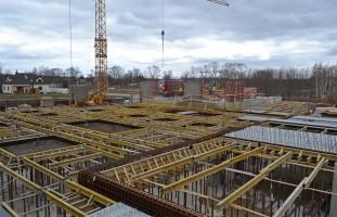 zdjęcie z budowy Osiedle Czwarty Wymiar