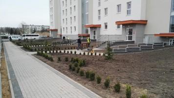 zdjęcie z budowy Panorama Dobrzec