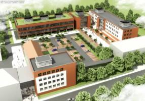 zdjęcie z budowy Assist Med Sport Silesia