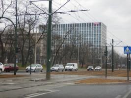zdjęcie z budowy Podium Park