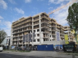 zdjęcie z budowy Mińska 63