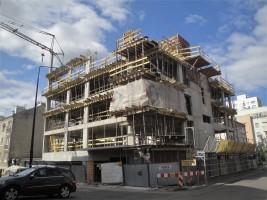 zdjęcie z budowy Dubieńska 25