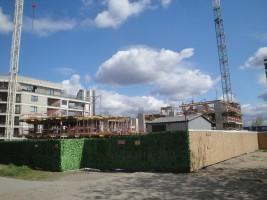 zdjęcie z budowy Horyzont Praga