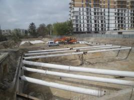 zdjęcie z budowy Borsucza 55