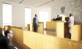 zdjęcie z budowy Sąd Apelacyjny