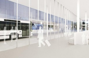 wizualizacje Dworzec kolejowo-autobusowy
