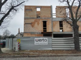zdjęcie z budowy Wiosenna 110